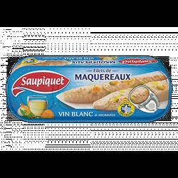 SAUPIQUET - Filets De Maquereaux Au Vin Blanc
