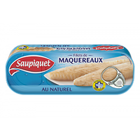 SAUPIQUET - Filets De Maquereaux Au Naturel