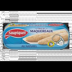 SAUPIQUET - Filets De Maquereaux Au Naturel