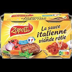 ZAPETTI - La Sauce Italienne à la Viande Rôtie