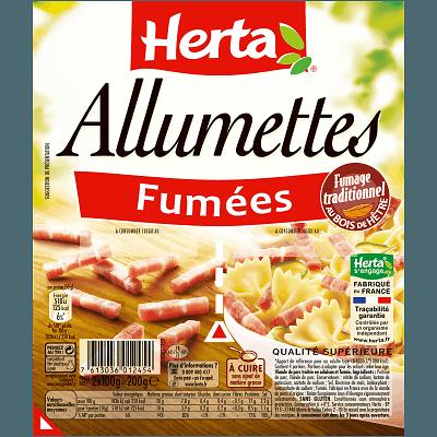 HERTA - Allumettes Fumés
