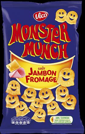 MONSTER MUNCH - Goût Jambon Fromage