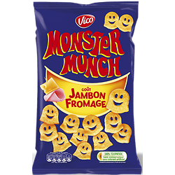 MONSTER MUNCH - Goût Jambon Fromage