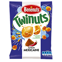 BENENUTS - Twinuts Saveur Mexicaine