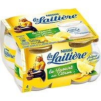 Yaourt arôme naturel de Citron 4 x 125 g La Laitière