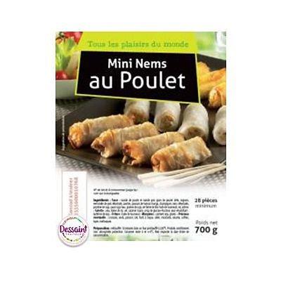 Nems au Poulet 4 x 70 g + Sauce
