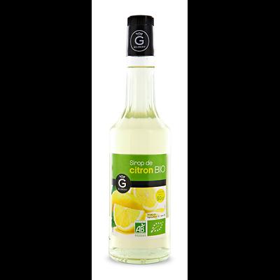 GILBERT - Sirop de Citron BIO