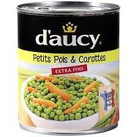 DAUCY- Petits Pois Carottes 800g