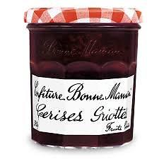 BONNE MAMAN - Confiture - Cerises Griottes