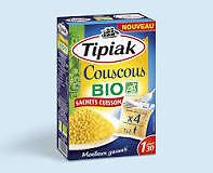 Couscous BIO sachets cuisson TIPIAK