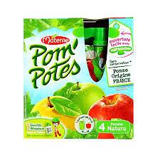 MATERNE - Pom'potes Pomme Nature
