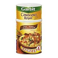 Couscous Royal Poulet Merguez & Boulettes de Viande