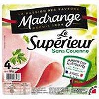 Jambon Supérieur 4 tranches Madrange