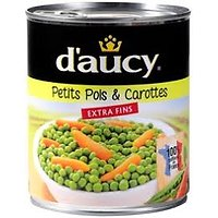 DAUCY - Petits Pois Carottes Extra Fins 400g