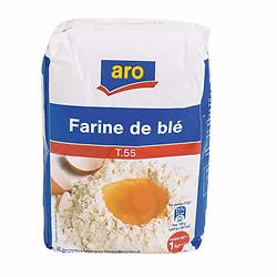 Farine de Blé T55 1 kg Aro