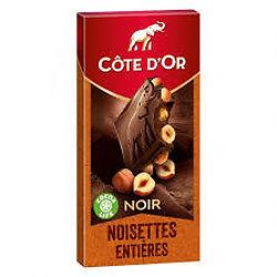 CÔTE D'OR - Noir Noisettes Entières