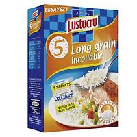 Riz long grain 5 minutes sachets cuisson Lustucru