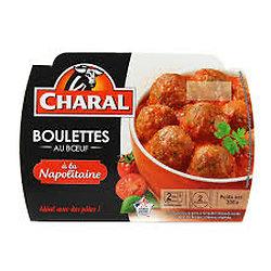 CHARAL - Boulettes de Boeuf à la Napolitaine