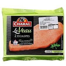 CHARAL - Escalopes de Veau X2 DLC 06/06