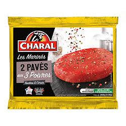 CHARAL - 2 Pavés Marinés aux 3 Poivres