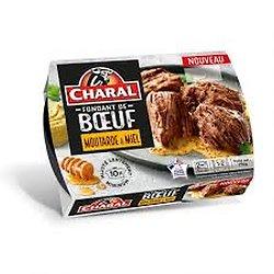 CHARAL - Fondant de Boeuf Moutarde & Miel