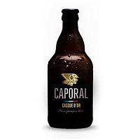 CAPORAL - Bière artisanale Casque d'or - 4x33cL