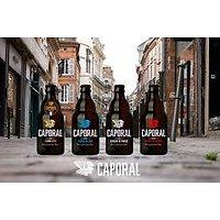 CAPORAL - Bière Artisanale Mix 4 Variétés - 4x33cL