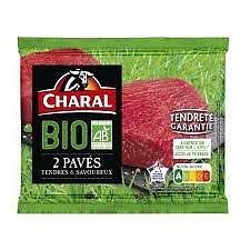 CHARAL - 2 Pavés Tendres & Savoureux BIO