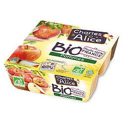 CHARLES & ALICE - Compote BIO Pommes