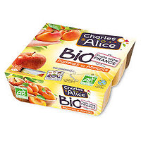 CHARLES & ALICE - Compote BIO Pommes Abricots