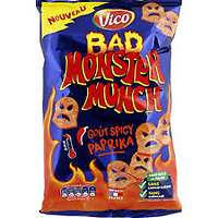 MONSTER MUNCH - Goût Spicy Paprika