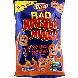 MONSTER MUNCH - Goût Spicy Paprika