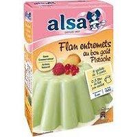 ALSA - préparation pour Flan entremets Pistache
