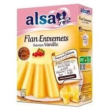 ALSA - Préparation pour flan entremets à la vanille