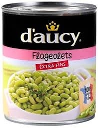 DAUCY - Flageolets Extra Fins