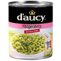 DAUCY - Flageolets extra fins 800g