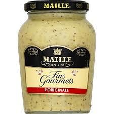 MAILLE - Moutarde Fins Gourmets L'Originale