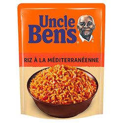 UNCLE BEN'S - Riz à la Méditerranéenne