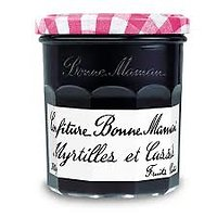 BONNE MAMAN - Confiture - Myrtilles et Cassis