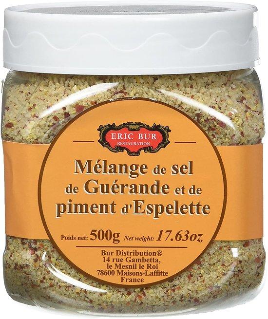 ERIC BUR - Sel de Guérande au Piment d'Espelette