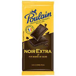 Poulain Noir Extra 100G