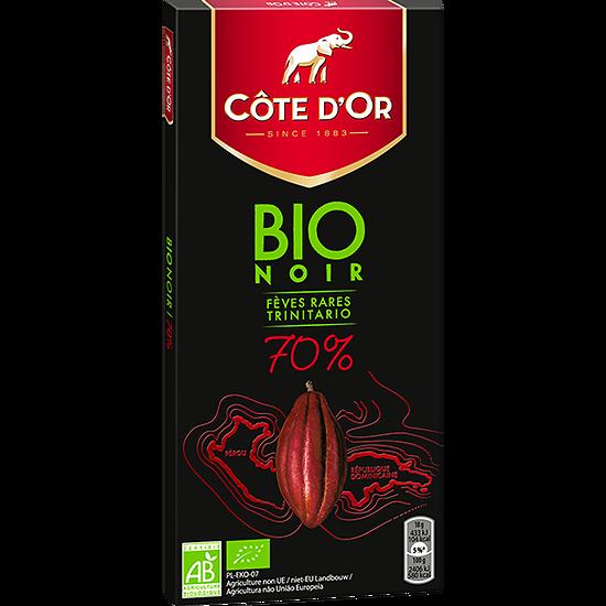 CÔTE D'OR -  Bio Noir 70%