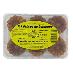 LES DELICES DE BORDEAUX -  Canelés X6