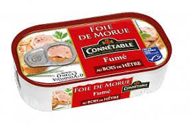 CONNÉTABLE - Foie de Morue - Fumé aux Bois de Hêtre
