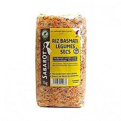 SABAROT - Riz Basmati et Légumes Secs