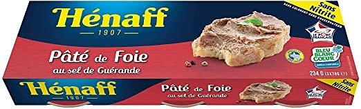 Henaff - Pâté de foie X 3