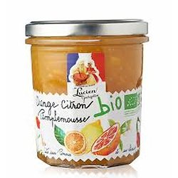 LUCIEN GEORGELIN - Confiture - Orange / Citron / Pamplemousse BIO