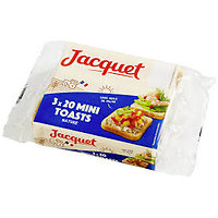 JACQUET - 3 X 20 Mini Toasts
