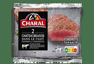 CHARAL - 2 X Chateaubriands dans le Filet - DLC 02/05