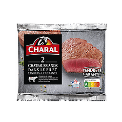 CHARAL - 2 X Chateaubriands dans le Filet - DLC 02/05